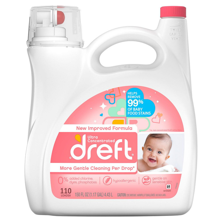DREFT ULTRA 150OZ LAUNDRY DETERGENT
