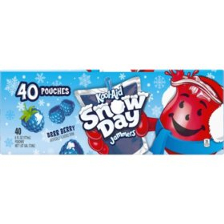 KoolAid jammers snow day Brr -Berry (10 pk)