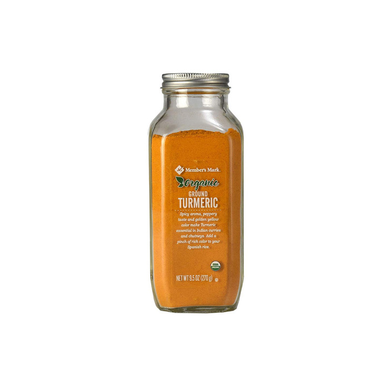 MEMBERS MARK ORGANIC TURMERIC  9.5OZ