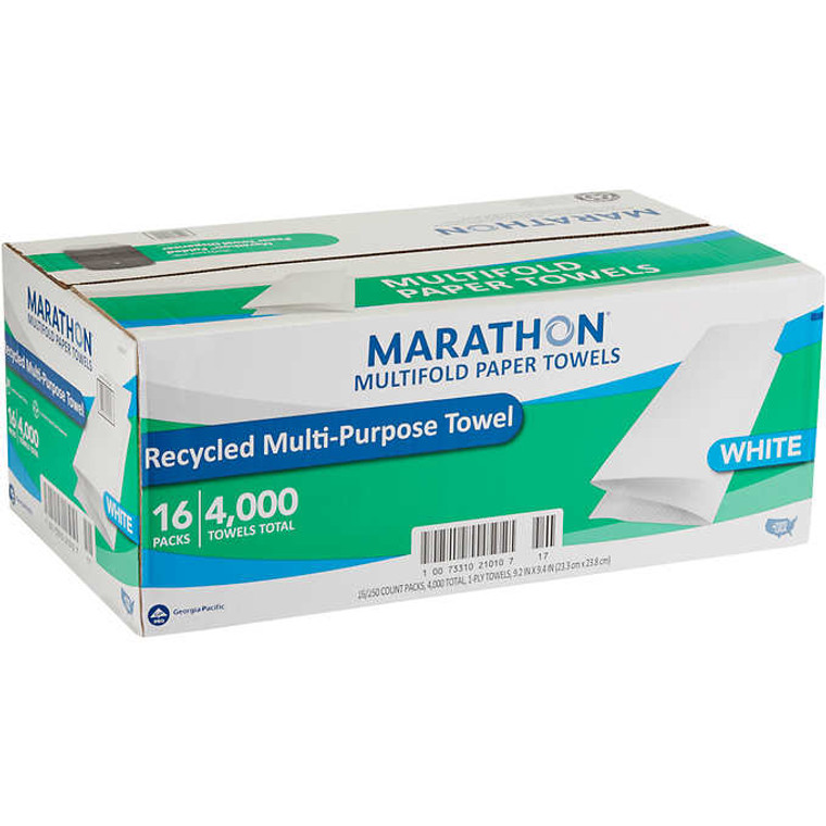 MARATHON 16CT MULTIFOLD PAPER TOWEL