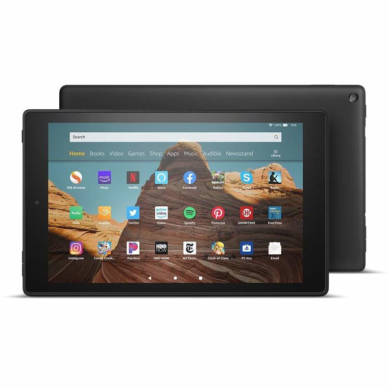 AmazonFireHD10Tablet(10.1in1080pfullHDdisplay/32GB)–Black