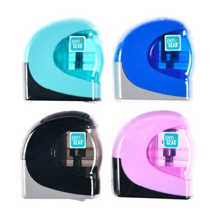 Pen + Gear Battery-Operated Pencil Sharpener, Assorted Colors