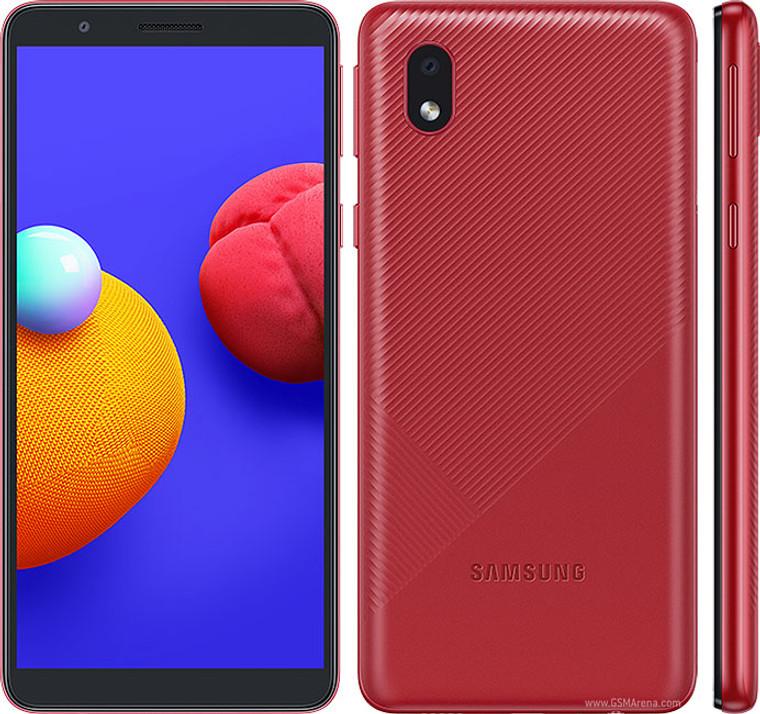 Samsung Galaxy A01 Core (16GB, 1GB RAM) , 8MP Camera Dual SIM GSM Factory Unlocked , Global 4G LTE - *OnLine Only*