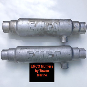 Exhaust Mufflers with Balance Pipe