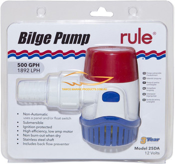 Bilge Pump Rule 500 GPH