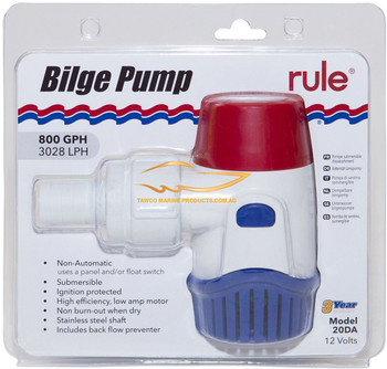 Bilge Pump Rule 800GPH