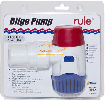 Bilge Pump Rule 1100GPH