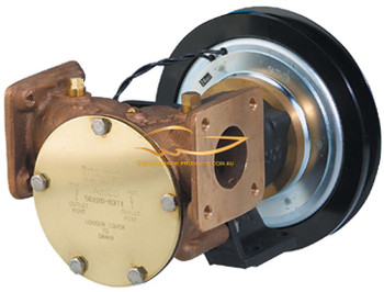 Jabsco Electric Clutch HD Flanged 1-1/2""