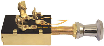 3 Position Brass Switch