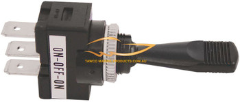 Toggle Switch 3 Position Plastic