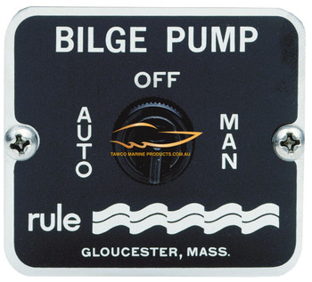Bilge Switch 3 Way STD