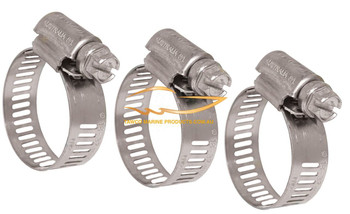 Hose Clamps Size Options 10 Box
