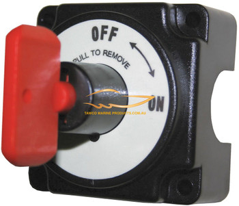 Battery Isolator Mini Key Switch