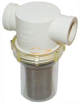 """Raw Water Strainer 1/2"""" to 1-1/4"""""""