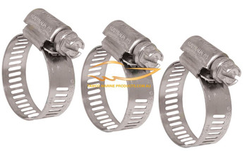 Log gland hose clamp 3/4""