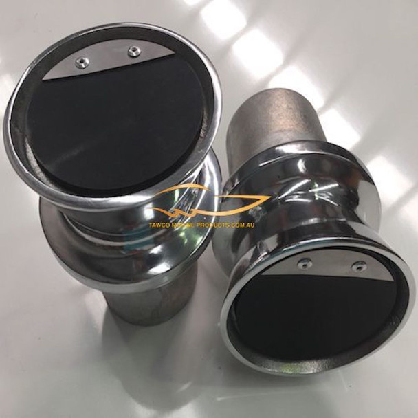 Exhaust Tips Flared SET