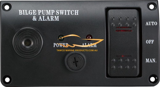 Bilge Alarm and Pump Panel