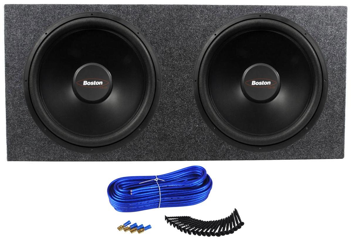 (2) Boston Acoustics G215-44 15