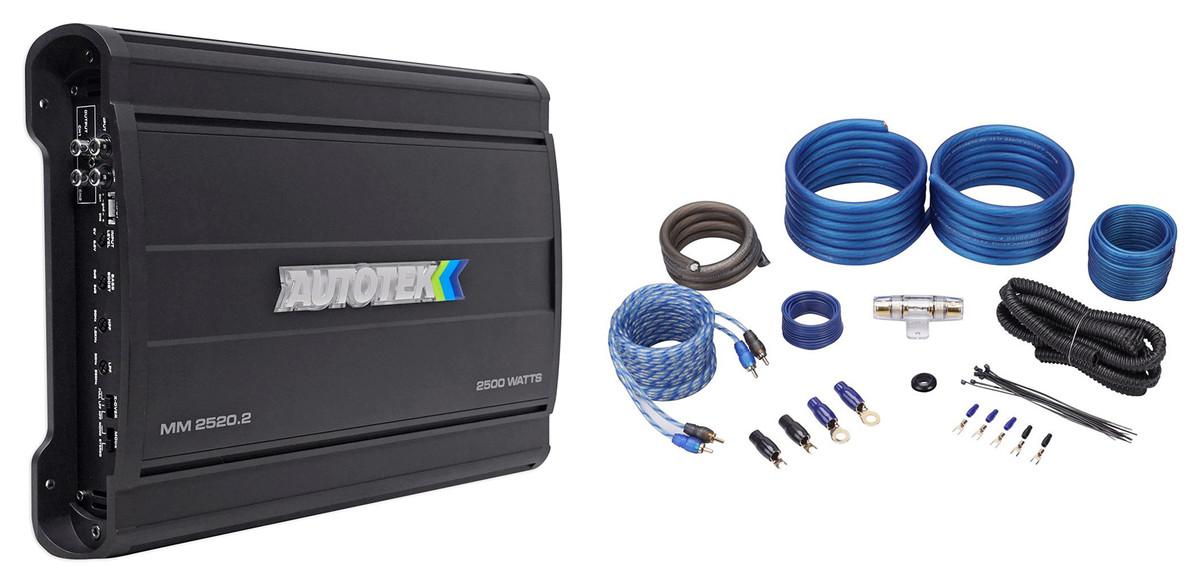 BASS INFERNO BI4500.4 2500 WATT 4 CHANNEL AMPLIFIER CAR STEREO SPEAKER//SUB AMP