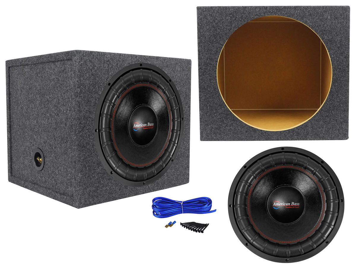 """American Bass XFL-1544 2000w 15/"""" Competition Car Subwoofer 3/"""" Voice Coil//200Oz"""