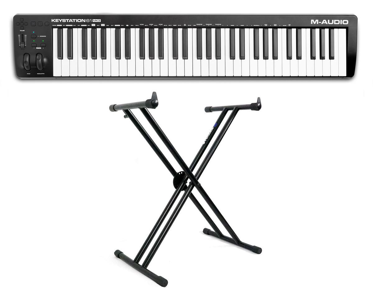 Professional 61 key usb midi keyboard controller for macbook