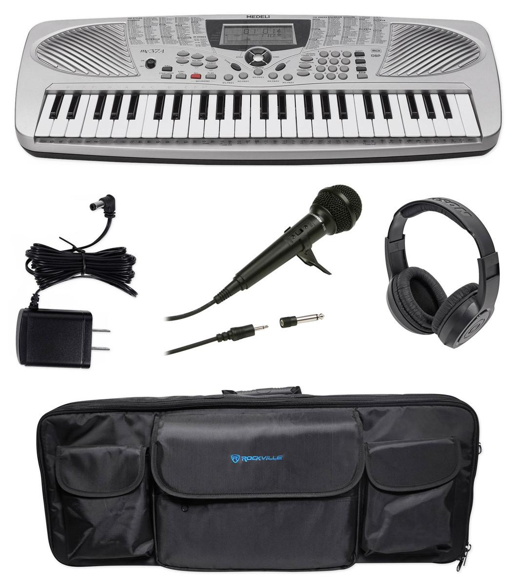 Rockville Bag Case for M-Audio Keystation 49 II Keyboard Controller