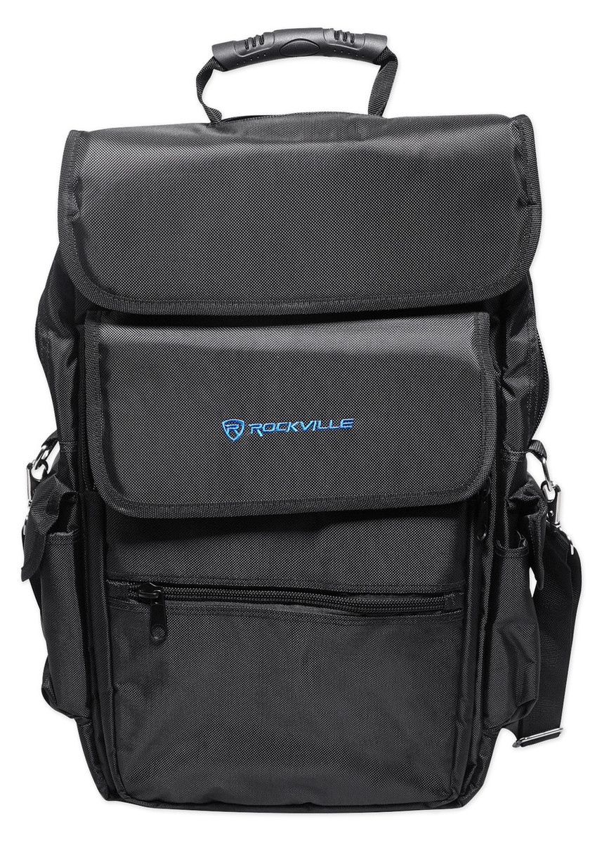 b756a49d8432 Rockville Bag Backpack Case for M-Audio Oxygen 25 MK IV Keyboard Controller