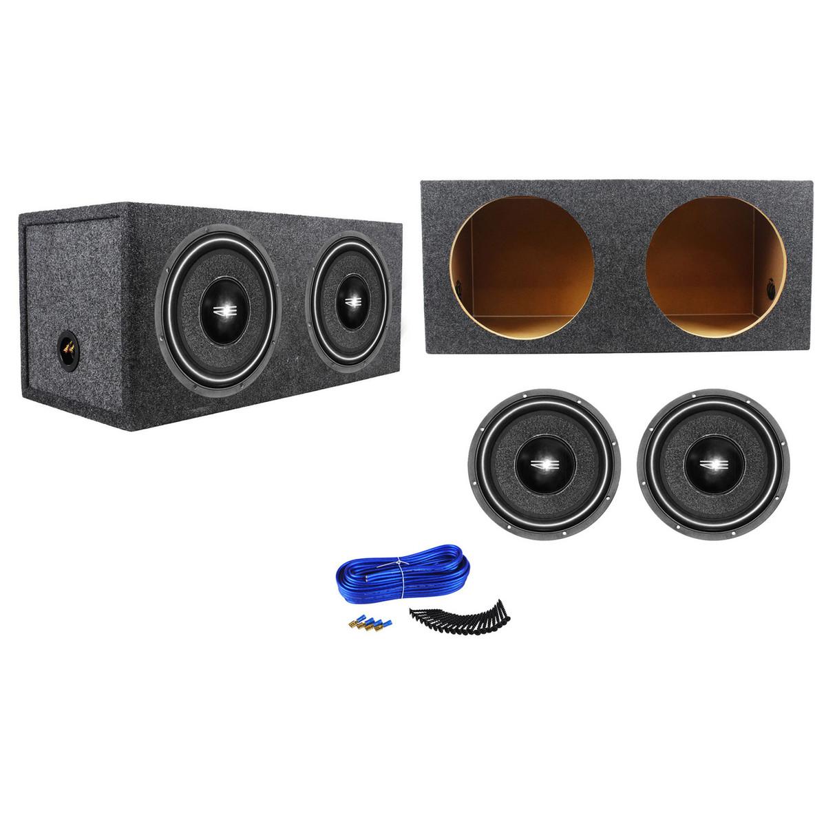 """RE Audio CVX12S4 CVX Series 300 Watts 12/"""" Single 4 Ohm Car Audio Subwoofer"""