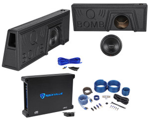 Car Audio, Ford, Loaded Enclosures