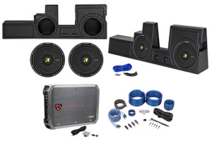 Car Audio, Vehicle Specific Enclosures, Loaded