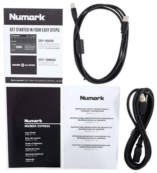 Rockville RDJB20 DJ Controller Travel Bag Case For Numark Mixdeck+ ...