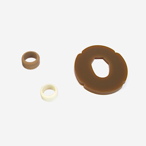 Tsuba + Tsubadome for Bokken (Pack of 5)