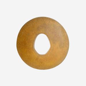 Tsuba - Round Leather