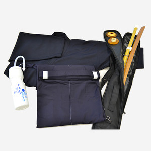 Hakama, Keikogi, Shinai + Tsuba, Bokken + Tsuba, Shinai Bag, Sports bottle