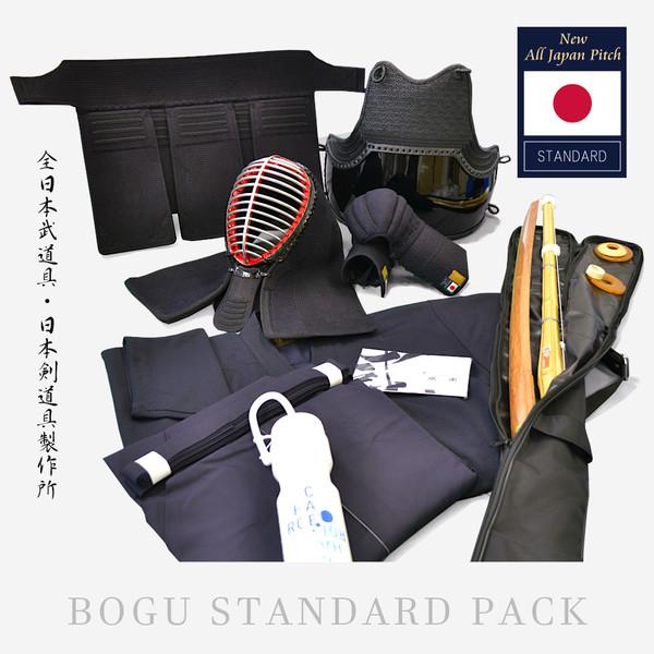 Hakama Keikogi Shinai + Tsuba Bokken + Tsuba Shinai Bag Sports bottle Bogu Set 4mm Tenugui Men/ Do Himo Chichikawa