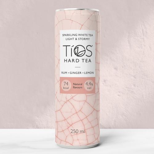 Tios White  Tea Light & Stormy