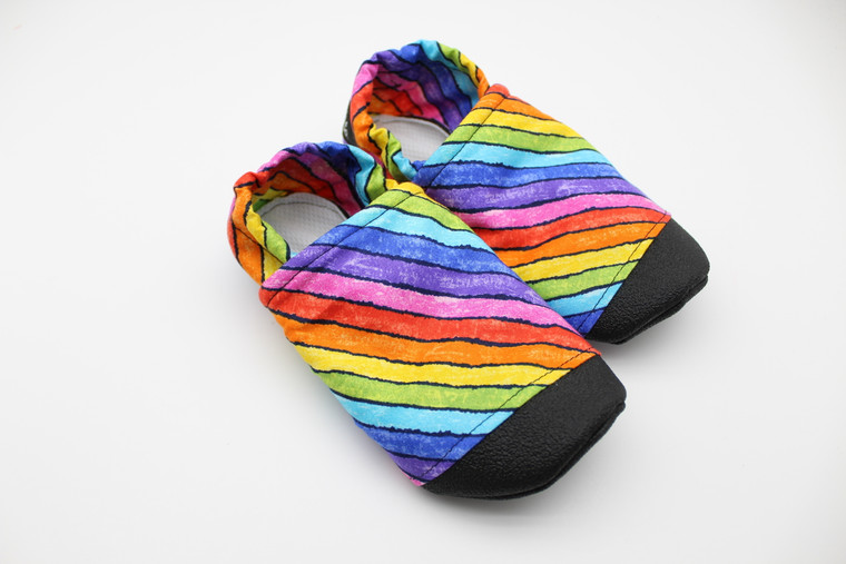 Rainbow Sketch Everyday Soft Sole Shoes Preorder