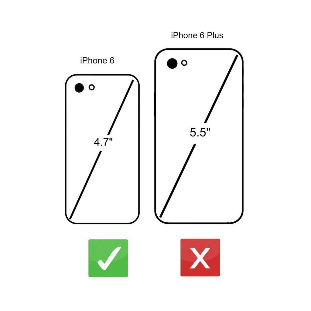 """Rila"" iPhone 6 6S Premium Genuine Leather Wallet Case - Pink & Black"