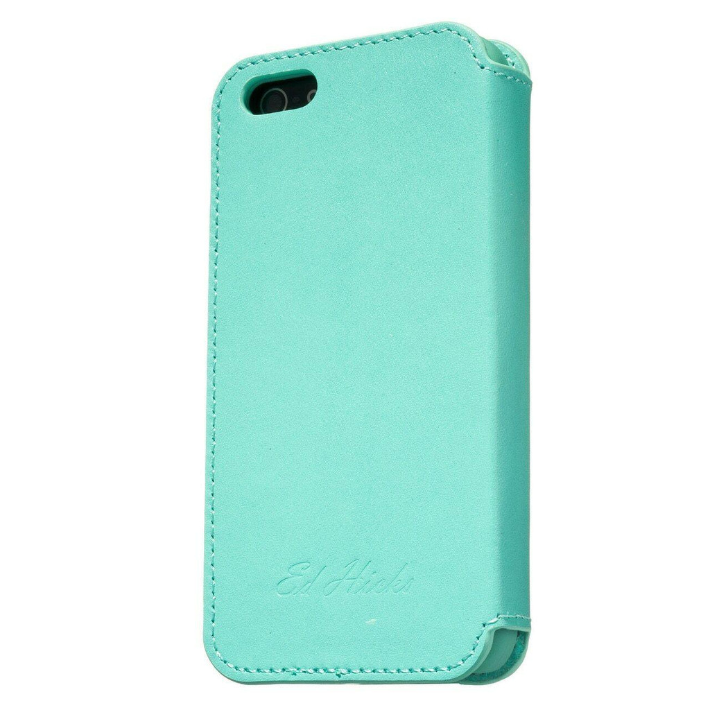 iPhone 7 Real Leather Ultra Slim Phone Case Blue