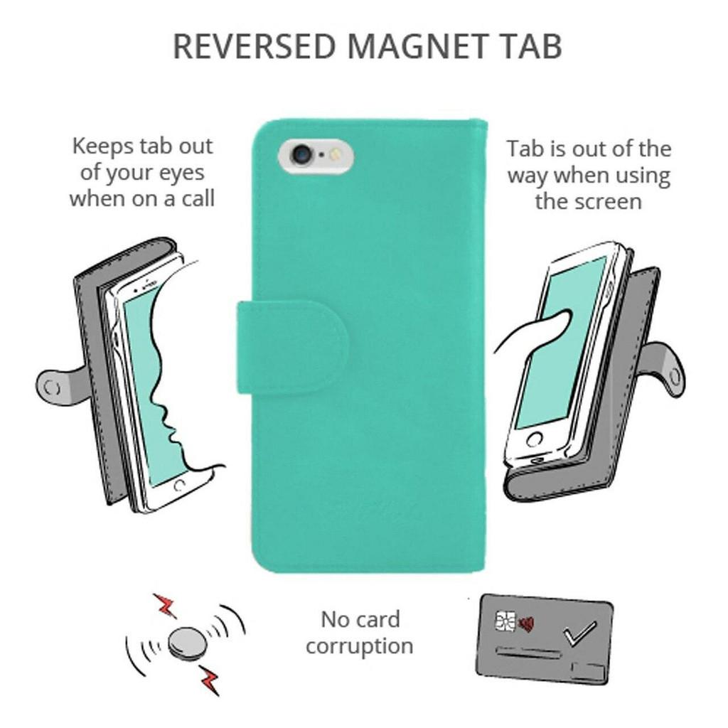 Ed Hicks iPhone SE 2020 2nd Gen Leather Wallet Phone Case Magnetic Fold Over