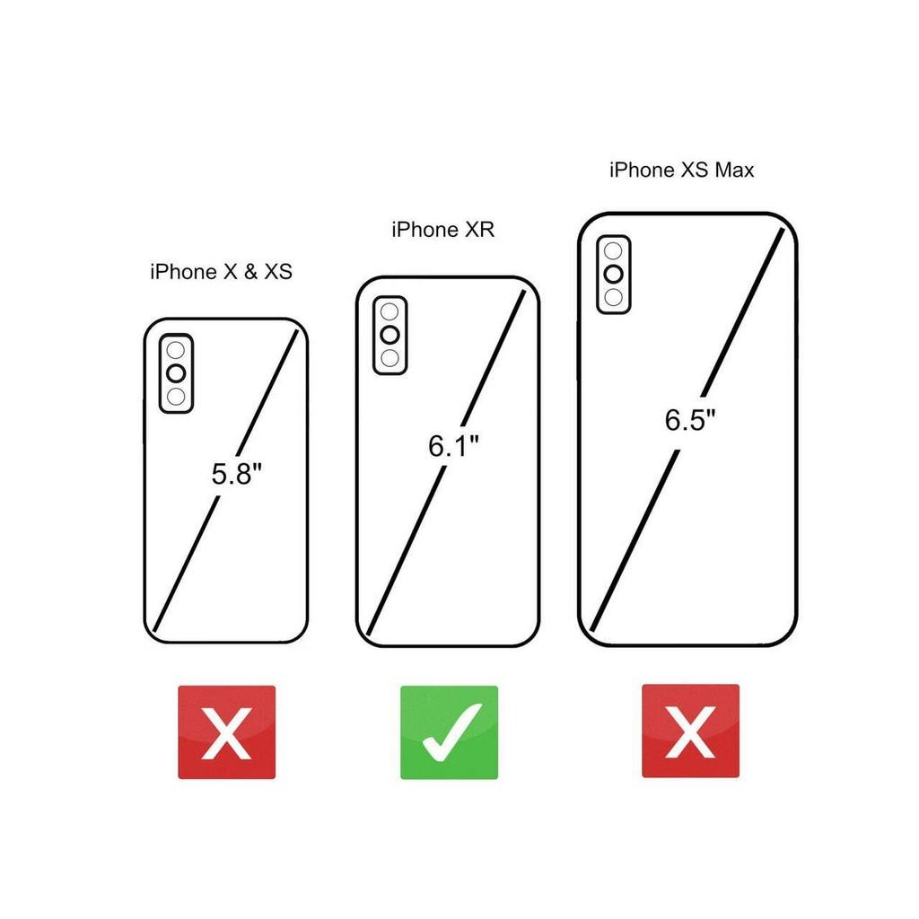 iPhone XR size comparison uk