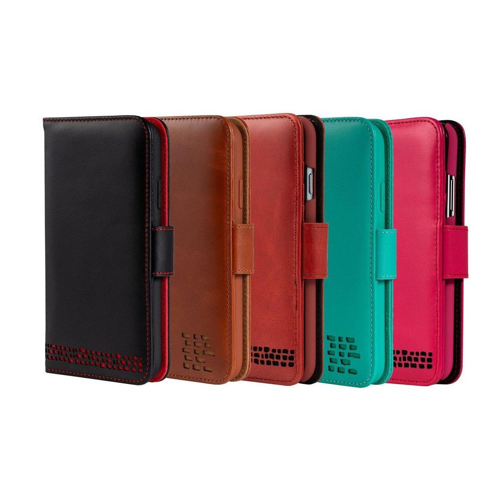 iPhone 12 Mini Premium Leather Wallet Phone Case