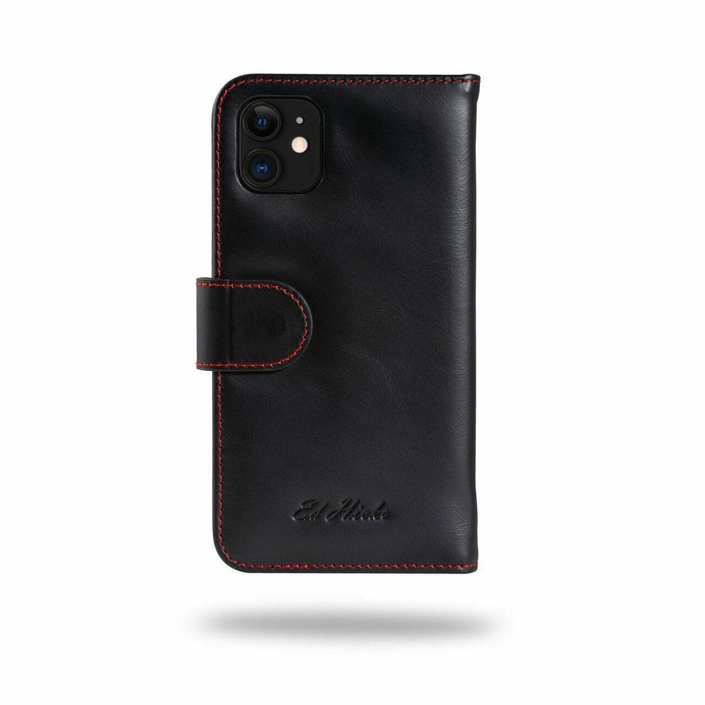 Apple iPhone 12 Genuine Leather Wallet  Phone Case