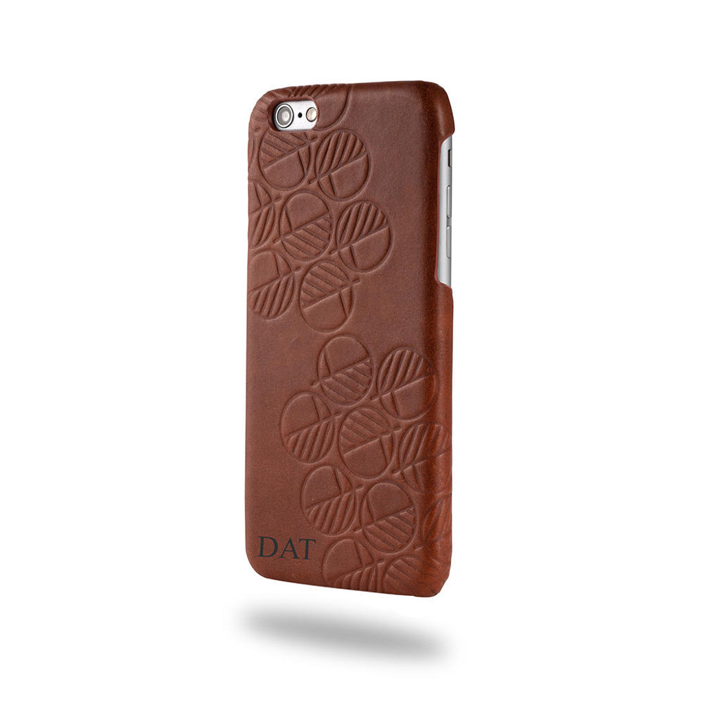 Apple-iPhone-7-Real-brown-leather-back-cover-case