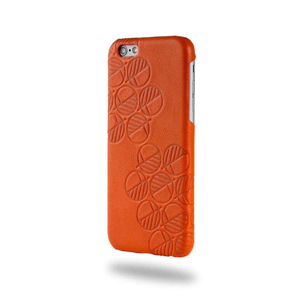 Apple-iPhone-7-genuine-leather-back-cover-case-orange