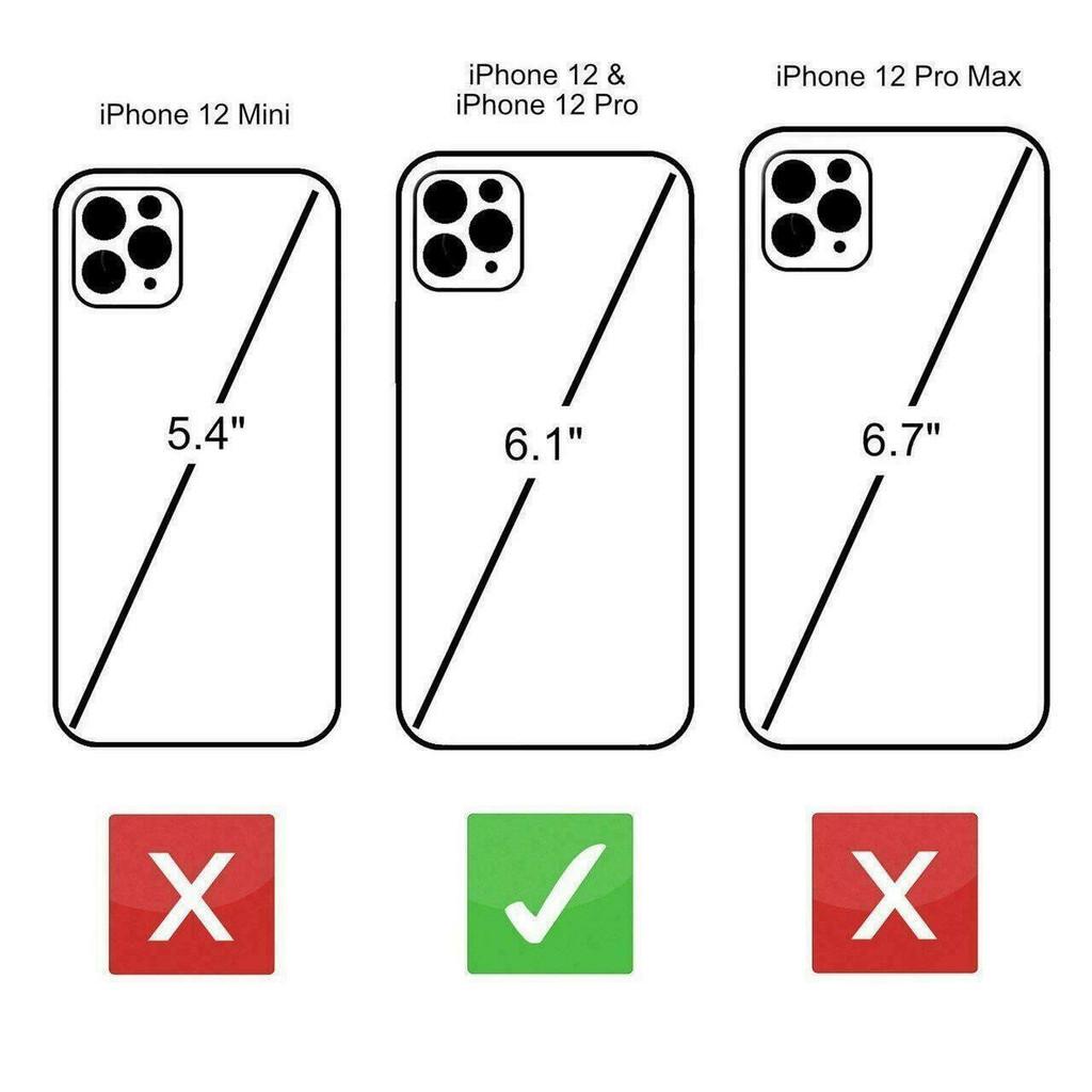 Apple iPhone 12  Size comparison