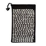 Soft Glasses Cases, Storage Pouches & Microfibre Cleaning Cloth All-in-1 - White and Black