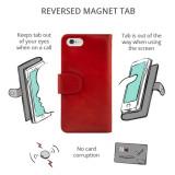 iPhone 12 Mini Leather Flip Phone Case