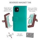 Apple iPhone 12 Pro Flip Phone Case Premium Real Leather