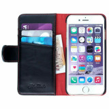 iPhone 8 Plus Real Leather Wallet with Cardholder Phone Case